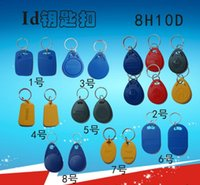 Wholesale High Quality blue color Khz RFID Proximity ID smart Card Key fobs Access Control Card in stock
