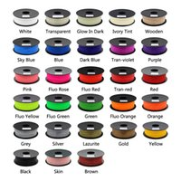Wholesale Anycubic D printer filament PLA mm kg plastic Rubber Consumables Material kinds colours for you choose
