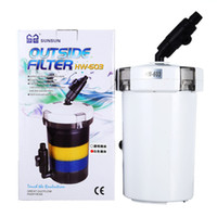 Wholesale NEW SUNSUN HW Fish Tank Mini Outside Filter Aquarium External Pre filter L None Pump