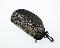 Wholesale Special fashion glasses case compression zipper box sunglasses box Easy to carry