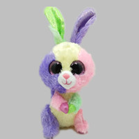 beanie boos rare - IN HAND NEW TY BEANIES BOOS SERIES STUFFED ANIMAL BIG EYES Eyes Bloom The Rabbit Bunny Rare cm Cute Plush Doll LC0287