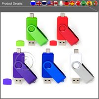 android disk drive - Fast speed gb OTG Android Smart Phone gb usb flash gb drive pen drive gb USB Stick Memory Disk