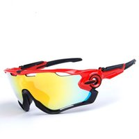 Wholesale High quality Polarized Cycling Glasses Racing Sport Cycling Sunglasses Lens Cycling Eyewear Bike Bicycle Glasses UV400 in colors
