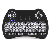 Wholesale Newest H9 Fly Air Mouse Mini Wireless Keyboard GHz Touchpad Kyeboard with backlight Remote Control For T95 TV Box M8S MXQ
