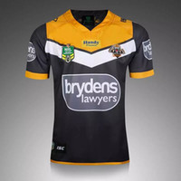 australia soccer - S XL Australia Rugby Jersey Wests Tigers MENS HOME NRL Rugby Shirts Mens Adults League Football Club Jersey
