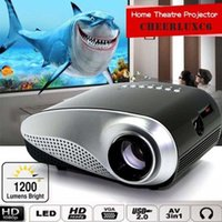 ape movies - HD P AV HDMI Home Cinema Theater Movie Multimedia LED Projector Black EU hdmi projector usb projector APE