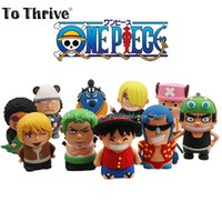 Wholesale Real mAh Power Bank One Piece Series Cartoon Portable Charger External Battery for Cellphones