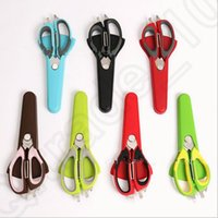 Wholesale Food Scissor Cutting Household Kitchen Knife For Cutting Fish Chicken Multi Stainless Steel Barbecue Refrigerator Scissor OOA963