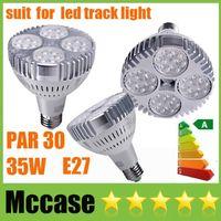 Wholesale High Bright W LM PAR30 LED Spotlight E27 bulbs OSRAM Lamps CRI gt V Display Shop Store Market Showcase Fixture Ceiling Downlight