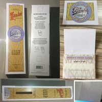 Cheap big bambu pure hemp Rolling Paper Cigarette Papers for Smoking 50 Booklets a Box Papper Natural Unrefined Smoking Rolling Paper