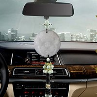 Wholesale Car pendant jade double sided brave out of the security rearview mirror decorative pendant