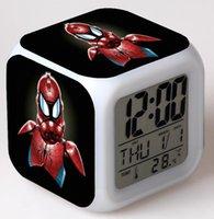 alarm force - Star Wars Alarm clock The Force Awakens Glowing Cube Colors Clock LED Change LCD o Clock