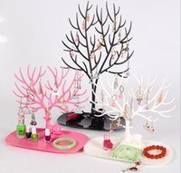 Wholesale 2017 Wholesales Creative sika Deer Tree Vogue Jewelry Rack Display Stand Holder Organizer for Bracelet Earrings Necklace Ring Pendant