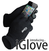 Wholesale 100 Pairs DHL iGlove Screen Touch Gloves for Men and Women Touch Glove Capacitive With Black and Pink Colors