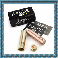 adapt dhl - Newest Rogue Mod E cigarette Mods Brass Copper Seiko version Fine carving process mm High quality Adapt to the Kennedy Atomizer DHL