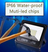 Wholesale Outdoor Led Flood Light W Led Floodlight LED Landscape Lighting IP66 Outdoor Lighting W W Waterproof Spotlight
