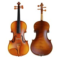 antique violin case - TONGLING Hand Made Antique Violin Maple Wood Violino High grade Jujube Accessories Case Bow String Rosin Mute