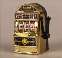 amusement pink - Newest mini slot machine keychain pendant Novelty Games Amusement Toys Activity Play toys for Children gift