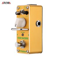 For Electric auto electric parts - AROMA AFK Funk Machine Auto Wah Electric Guitar Effect Pedal Mini Single Effect with True Bypass Guitar Parts