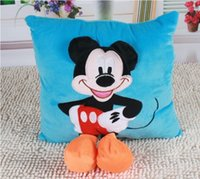bear baskets - toy basket D Mickey Mouse and Minnie Mouse Plush Pillow Toys Kawaii Mickey and Minnie Plush Toys Children Kids Toys Christmas Gift