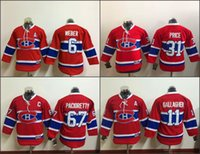 achat en gros de canadiens hockey jersey for kids-Jeunes 2017 Canadiens de Montréal Chandails de hockey 6 Shea Weber 31 Carey Prix 11 BRENDAN GALLAGHER 67 Max Pacioretty Enfants Accueil point rouge