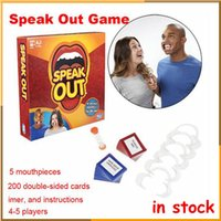 big board sports - Hot Fibreboards type speak out game interesting game speak out board mouthpiece party game by DHL free