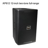 Wholesale A set of the KVT the family party speaker inch two tone full range speaker sound systems equipment W Power amplifier with microphone