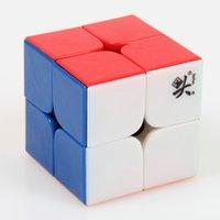 Precio de Dayan juguete-Cubo mágico de la velocidad de Dayan ZhanChi v1 cubo mágico de Cubo Magico de Cubo Magico del cubo del rompecabezas de 50m m cubra el envío libre