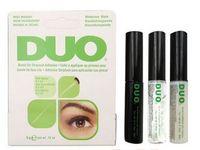 Wholesale New arrival DUO false eyelash glue g The transparent Black and White glue prevent allergy