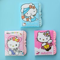Wholesale 10 Children s password diary creative students multi purpose notebook student small gift cartoon lock