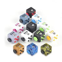 Wholesale New Novelty Games Fidget Cube Stress Relief Toys for Kids and Adults Colors Decompression Stress Balls New Toys