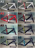 Wholesale 2016 the Newest models of F8 carbon bike frames Made in China T1100 K road bike carbon frameset