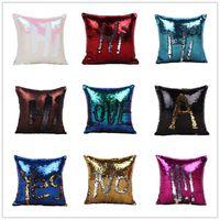 bedding home decor - Double Sequin Pillow Case Bedding Supplies Cushion Cover Home Sofa Car Decor Bright Pillow Case Pillowslip A0690