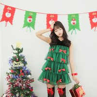 ball cap manufacturers - In the new clothing green Christmas tree role playing Santa costume manufacturers