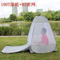 Wholesale Automatic pop up indoor outdoor sit and lay meditation crosslegged bhavana torma anti mosquito Meditation Buddhist yoga net tent