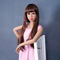 La vagina grande verdadera del gatito del pecho de las muñecas del sexo del silicón de los 158cm la muñeca sexual del muñeca del amor del masturbation de la muñeca de los productos adultos de los productos japoneses libera el envío