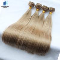 100g ash hair colors - 4 bundles g color medium ash blonde light brownish blonde light ash brown brazilian straight remy human hair weave bundles