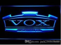 Public Places amplifier bar - VOX Amplifier Guitar Bass Band Bar Beer pub club d signs LED Neon Sign man cave