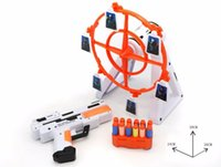 Wholesale 100 Original Rotate Pinwheel Gun Toys Star Wars Rotating Target Practice Shooter Box Includes Futuristic Space Gun