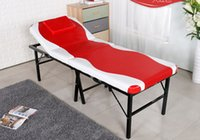 Wholesale One Piece Folding Massage Table Portable Facial Bed Silmming Massage Table Chair Beauty Massage Bed For Spa