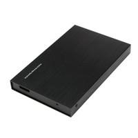 aluminum window boxes - SATA quot Inch USB Hard Drive Enclosure External Case HDD Hard Disk Drive Mobile Box Black for Windows Mac OS