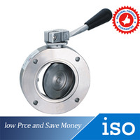 Wholesale DN25 Manual Valve Carbon steel High Vacuum Butterfly Valve G1