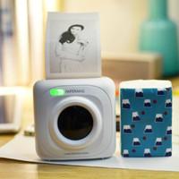 Wholesale New PAPERANG thermal printer Mini Wireless Bluetooth printer Portable pocket Photo bill printer for mobile phone