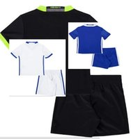 adult soccer uniforms sets - 2016 kits Adult kits HAZARD SOCCER JERSEYS Uniforms HOME BLUE DIEGO COSTA FABREGAS PATO WILLIAN kids PEDRO sets football SHIRTs