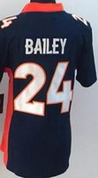 bailey broncos - Limited Broncos Bailey Ward Miller Women Stitched Embroidery Football Jerseys