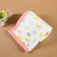baby tie blankets - Towel by layers of cotton yarn cloth towel towel baby child Tong was a baby blanket custom processing