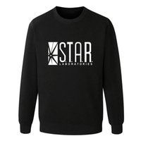 allen arrow - Flash Barry Allen Star Lab Labs Black Color Mens Sweatshirt Men Novelty hoodies Pullover Male Clothes Arrow Friend