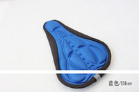 Wholesale most comfortable bike seat rain cover silicone saddle seat covers Soft Cushion cover best comfy bike seat