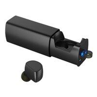 For Xbox banks headphones - Arealer BlackCube Headphone In ear Sport Stereo Bluetooth Headset Music Earphone Hands free w Mic mAh Emergency Power Bank V2555