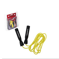 adjustable jump rope - Winmax beautiful design blister packing adjustable lenghth yellow color M PVC gymnastic fitness equipment heavyweight jump rope